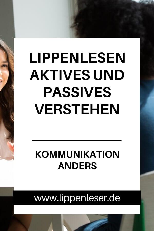 Lippenlesen aktives und passives Verstehen - Kommunikation anders - Können Hörende auch Lippenlesen? Erfahren Sie die Unterschiede hier.